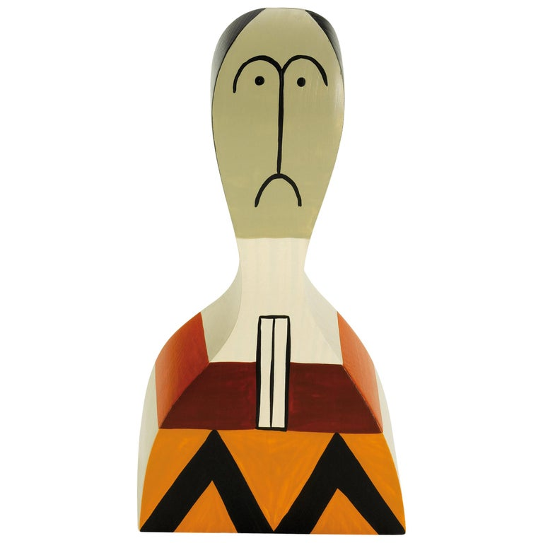 Vitra Wooden Doll No. 17 by Alexander Girard For Sale