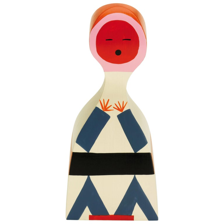 Vitra Wooden Doll No. 18 by Alexander Girard For Sale