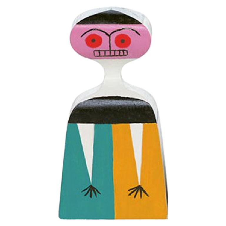 Vitra Wooden Doll No. 3 by Alexander Girard For Sale