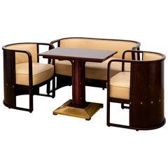 Josef Hoffmann, Sitting Room Suite Model Nr.421, J&J Kohn, Design 1906