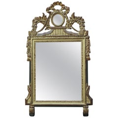 Louis XVI Style Wood Gilt Mirror, circa 1940
