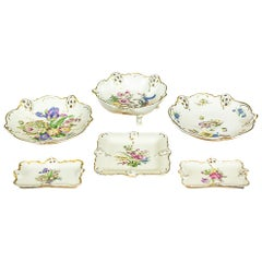 Set of Rosenthal Porcelain Epergnes, circa 1943-1950