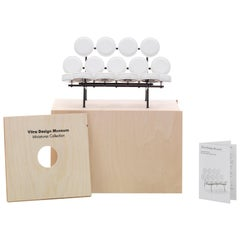 Vitra Miniature Marshmallow Sofa in White by George Nelson