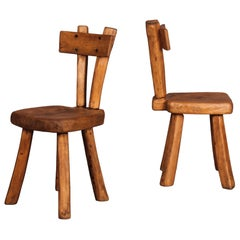 Two Alexandre Noll Style Chairs