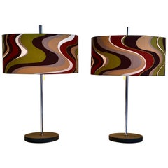Large Table Lamps from RAAK Amsterdam, 1960s, Set of 2