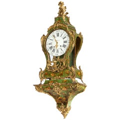Quite Exceptional 18th Century Cartel Clock by Jean Hubert