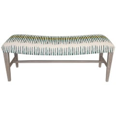 Accent Bench with Bowed Seat