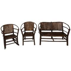 Set of Adirondack Porch Seats