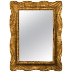 Mid-Century Modern Giltwood Mirror