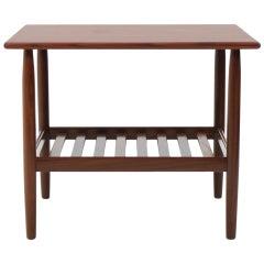 Danish Teak Side Table, 1960