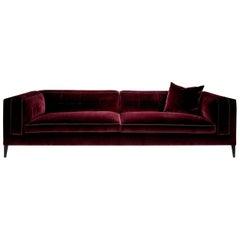 Dives Velvet Sofa