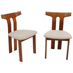 Mid-Century Modern Teak Chairs by Vamdrup, Denmark, 1970s