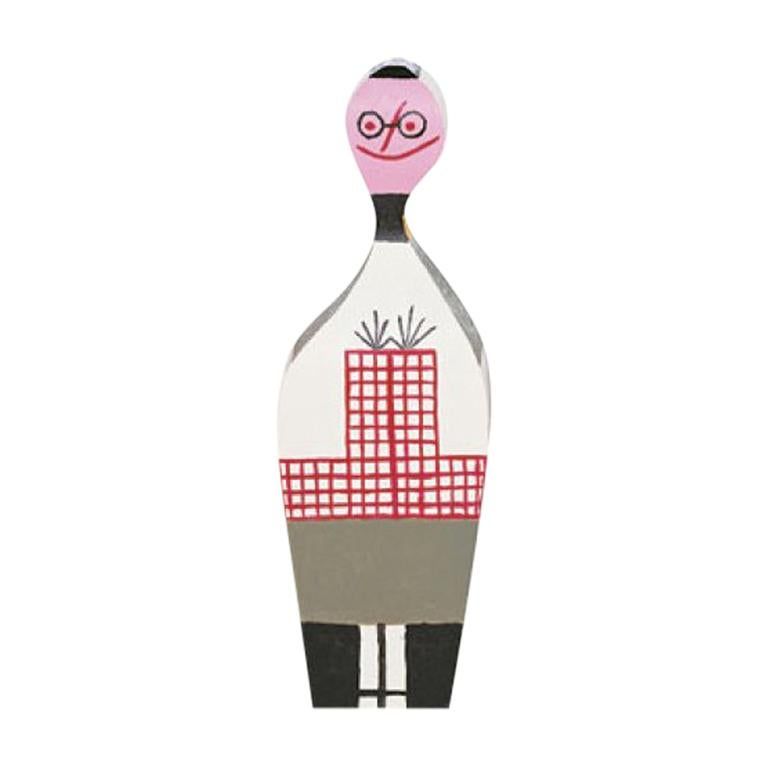 Vitra Wooden Doll No. 8 by Alexander Girard For Sale