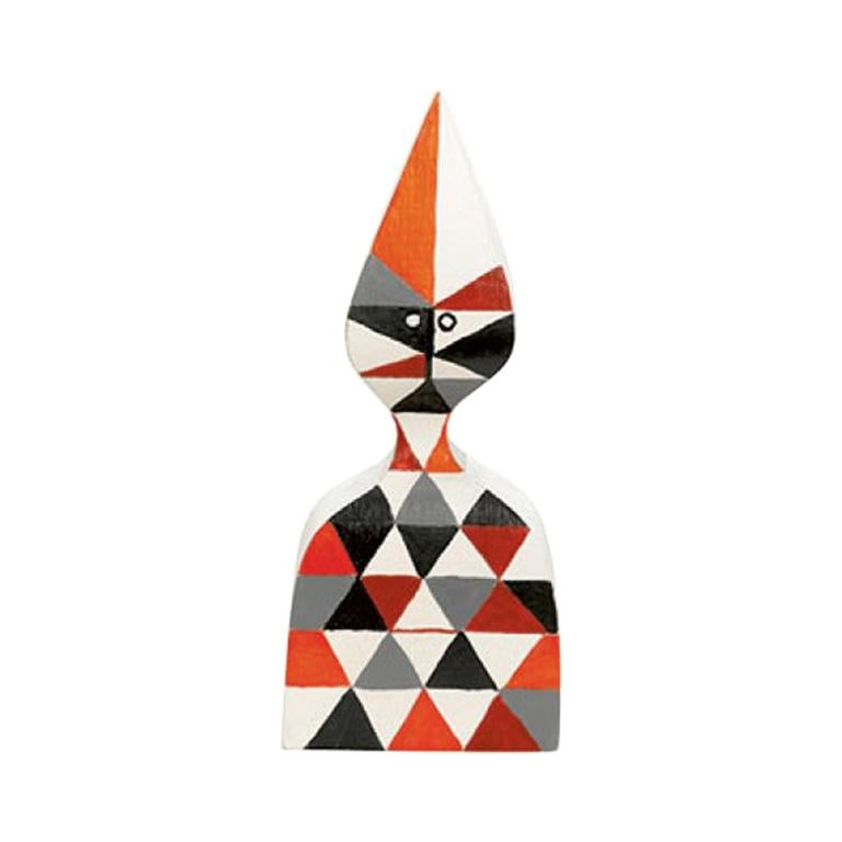 Vitra Wooden Doll No. 12 by Alexander Girard For Sale