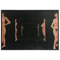 "Encaustic Wax Painting Titled ""Reflections"" by Northwest Artist Stan Chraminski"