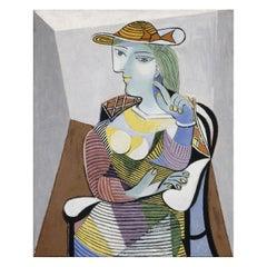 d'Olga dans un Fauteuil, after Expressionist artist Pablo Picasso
