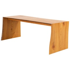 Contemporary IT Elmwood Bench