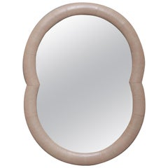 Leather Mirror by Serge de Troyer, Italy, 2018
