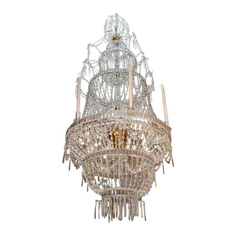 Palatial Spanish Crystal Chandelier