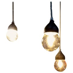 Vintage Crouse Hinds Industrial Pendant Lights