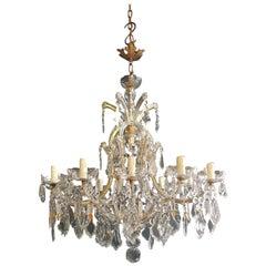 Maria Theresa Crystal Chandelier Antique Ceiling Lamp Lustre Art Nouveau