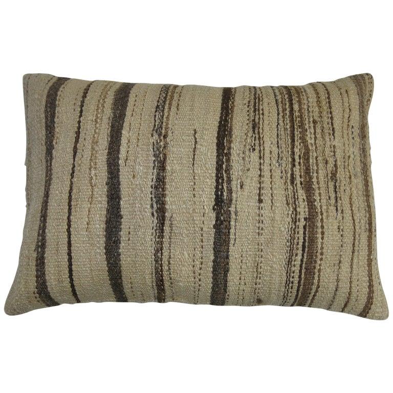 Turkish Checker Shag Rug Pillow For Sale At 1stdibs