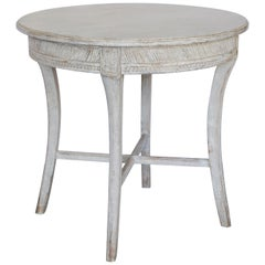 19th Century Round Gustavian Table