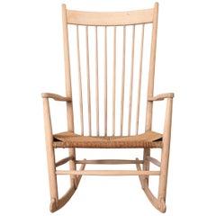 Hans Wegner Voor FDB Møbler J16 Rocking Chair, Denmark