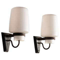 Pair of Wall Sconces by Georges Candilis