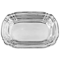 Sterling Chippendale Bowl