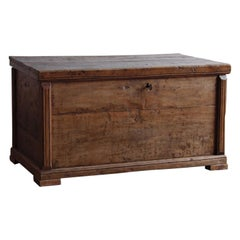 Belgian Walnut Blanket Chest