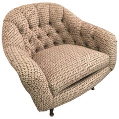 MCM Swivel Lounge Chair