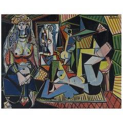 Les Femmes d'Alger, after Expressionist artist Pablo Picasso