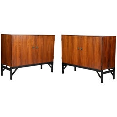 Pair of Rosewood Cabinets by Borge Mogensen