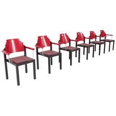 Memphis Dining Chairs by Gebrüder Thonet Vienna