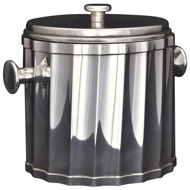 Fluted Ice Cube Bucket