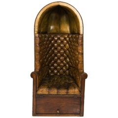 Leather Porter's Chair