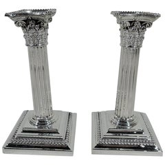 Gorham Manufacturing Company Candle Holders