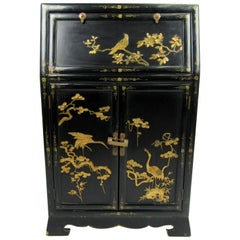 Early 20th Century Chinoiserie Petite Secretary