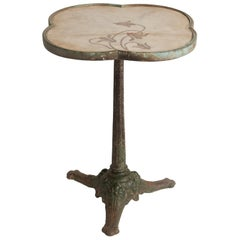 Art Nouveau Garden Table, circa 1900