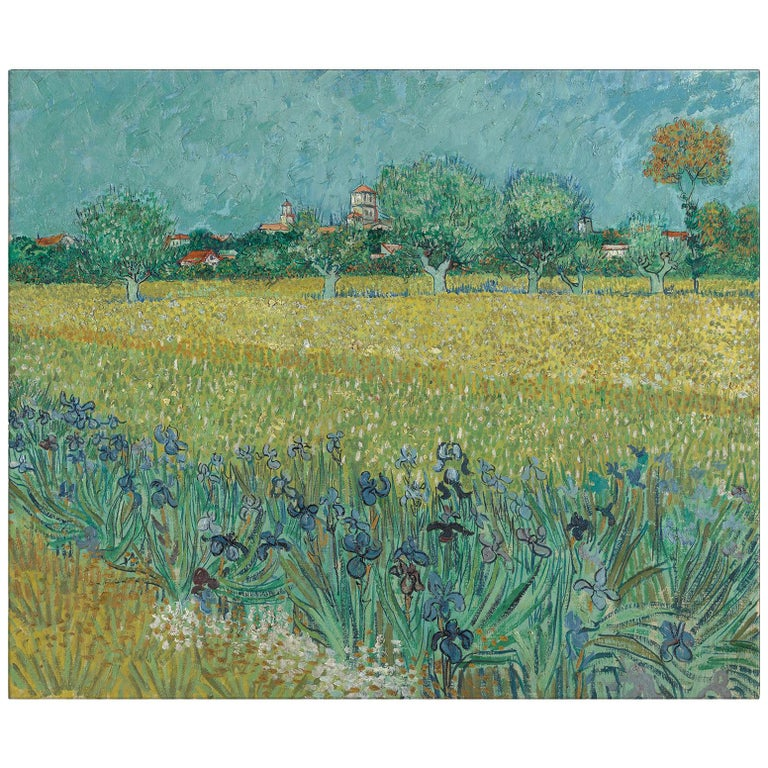 Convent Near Arles, after Impressionist Oil Painting by Vincent Van Gogh
