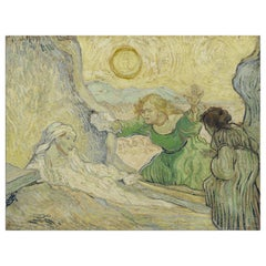 Raising of Lazarus, after Impressionist Oil Painting by Vincent Van Gogh