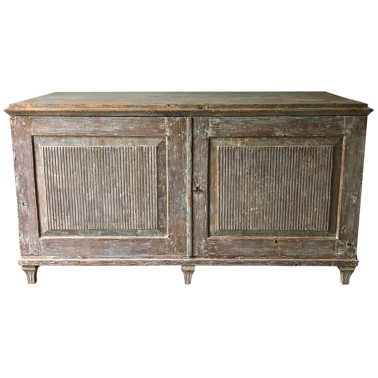 Early 19th Century Swedish Gustavian Sideboard