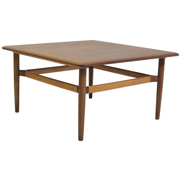 1960s Danish Kurt Ostervig Coffee Table by Jason Mobler For Sale