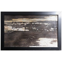 Moonlight Reflectio, an Extraordinary Natural Stone Painting, One-of-a-Kind