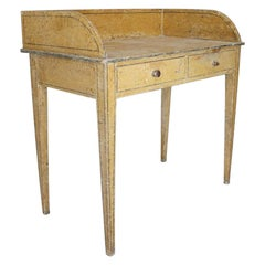 Regency Period Original Painted Pine Side Table