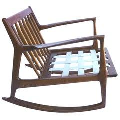 Ib Kofod-Larsen Walnut Rocking Chair
