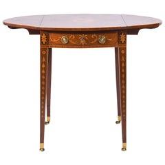 George III Inlaid Pembroke Table