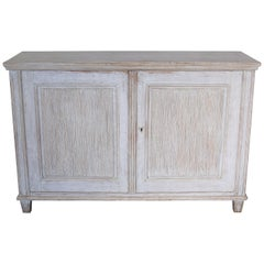 Swedish Reeded Gustavian Buffet