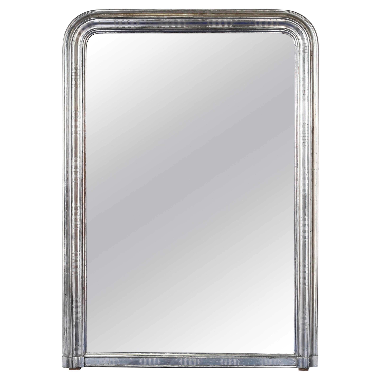 19th Century Silver Gilt Louis Philippe Mirror